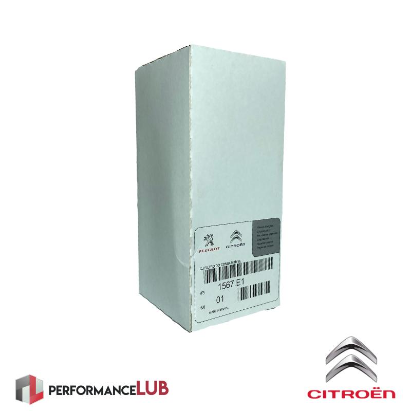 Filtro de combustível - Citroën DS3 1.6THP - 1567.E1 - PerformanceLUB Lubrificantes Premium