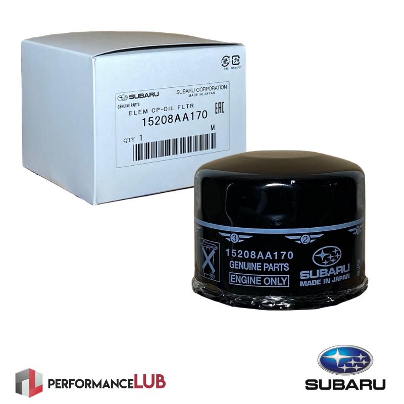 Filtro de óleo do motor - Subaru - 15208AA170 - PerformanceLUB Lubrificantes Premium
