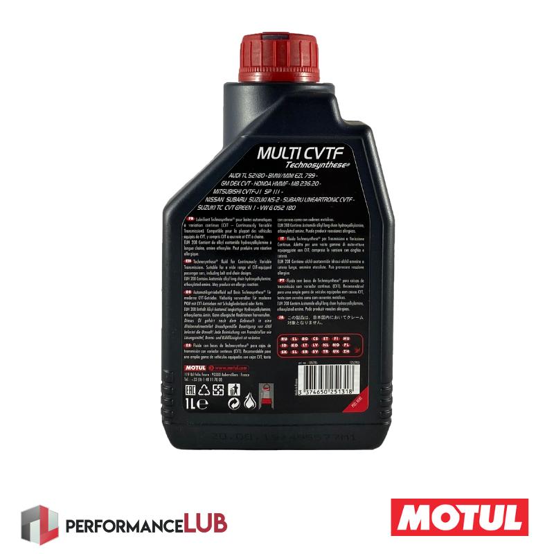 Multi CVTF - 1 litro - PerformanceLUB Lubrificantes Premium