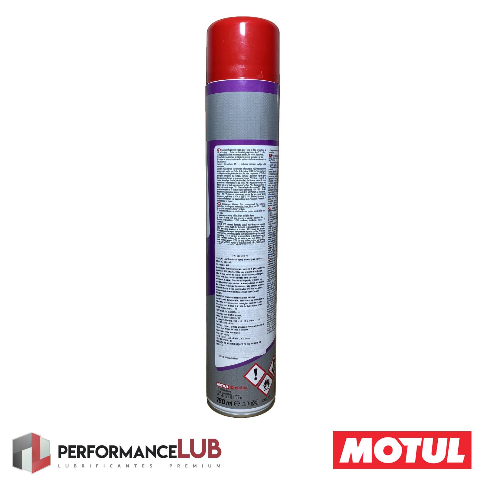EZ Lube - 750 ml - PerformanceLUB Lubrificantes Premium