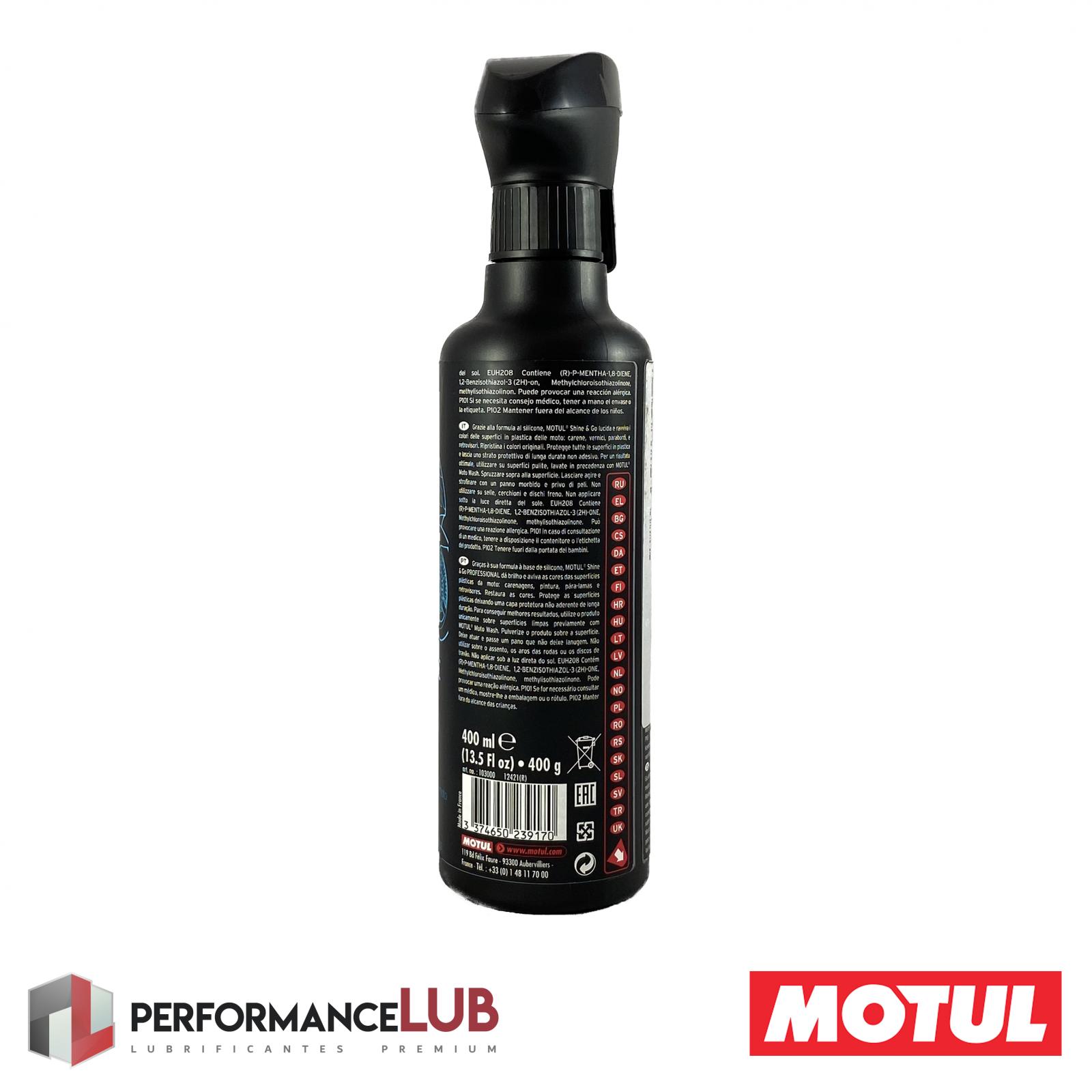 E5 Shine & Go - 400 ml - PerformanceLUB Lubrificantes Premium