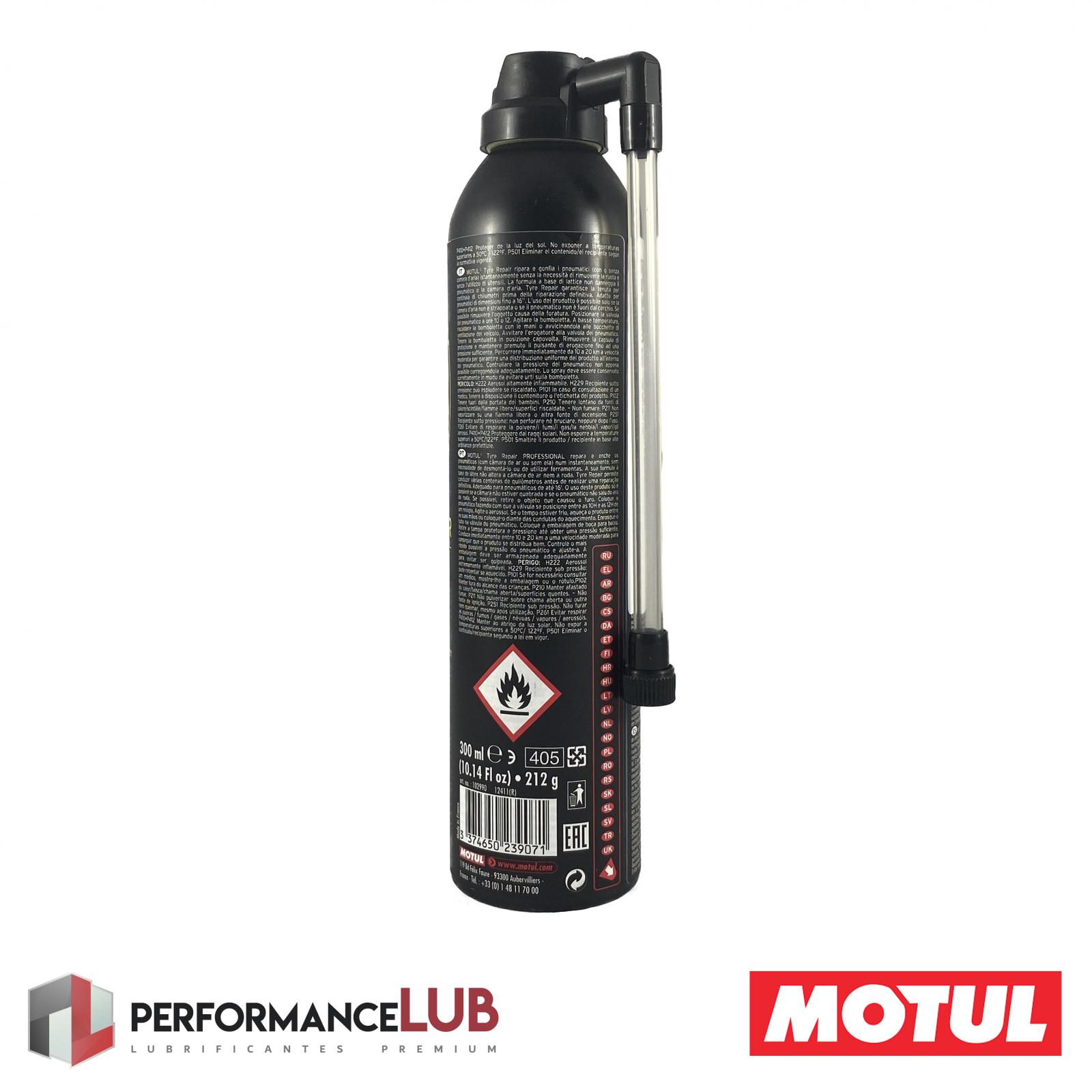 P3 Tyre Repair - 300 ml - PerformanceLUB Lubrificantes Premium