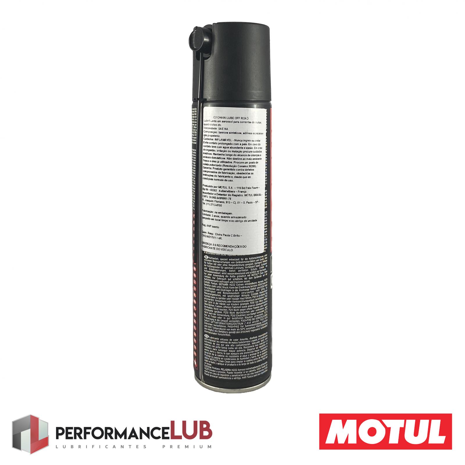 C3 Chain Lube Off Road - 400 ml - PerformanceLUB Lubrificantes Premium