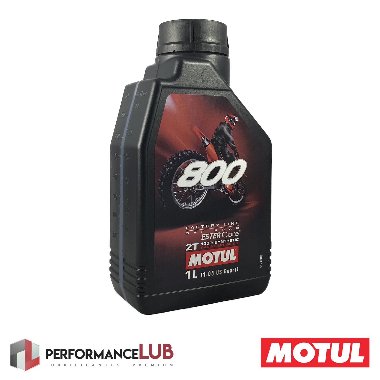 800 2T Factory Line Off Road - 1 litro - PerformanceLUB Lubrificantes Premium