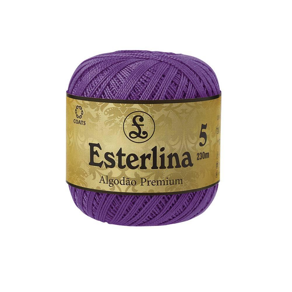 Esterlina 5 cor 170 - BAÚ DA VOVÓ