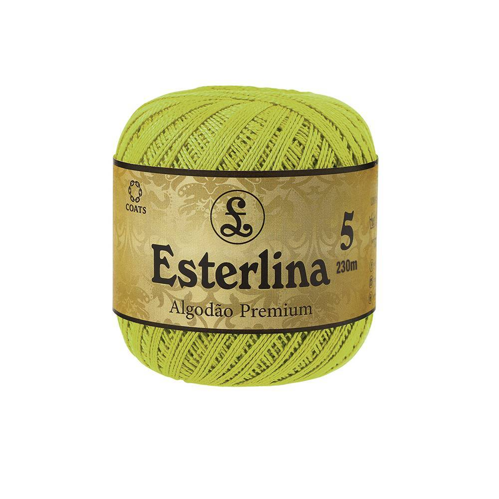 Esterlina 5 cor 13 - BAÚ DA VOVÓ
