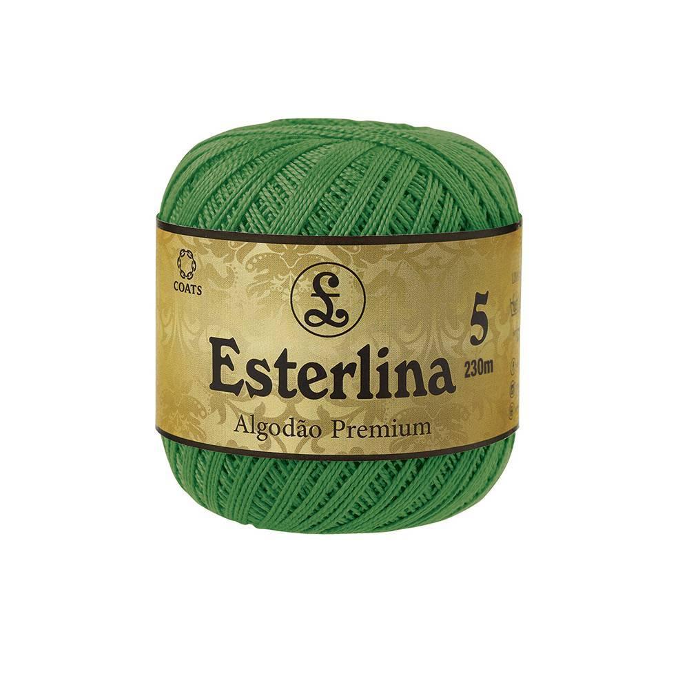 Esterlina 5 cor 16 - BAÚ DA VOVÓ