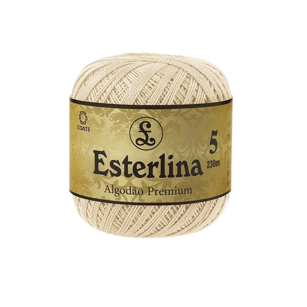 Esterlina 5 cor 105 - BAÚ DA VOVÓ