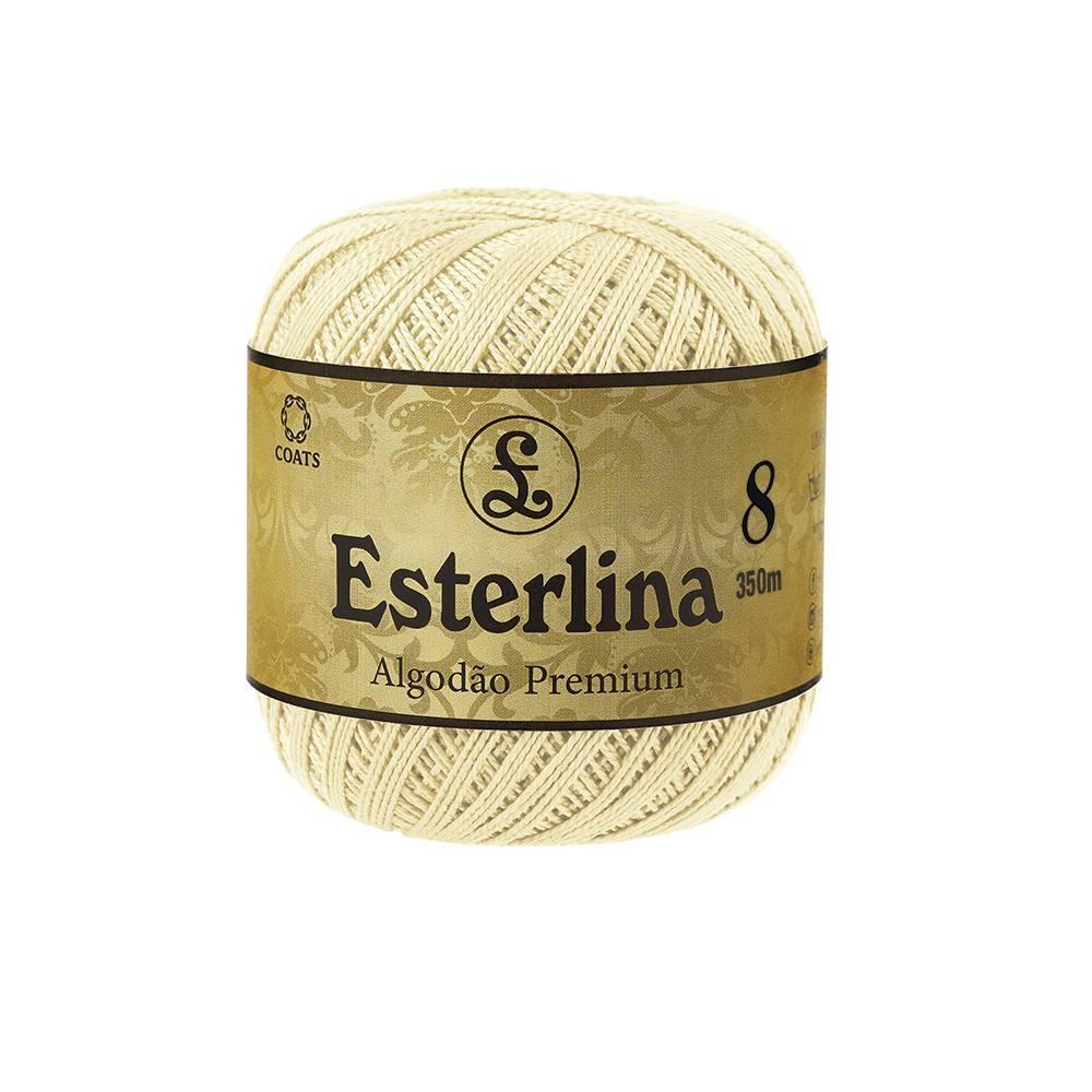 Esterlina 8 cor 300 - BAÚ DA VOVÓ