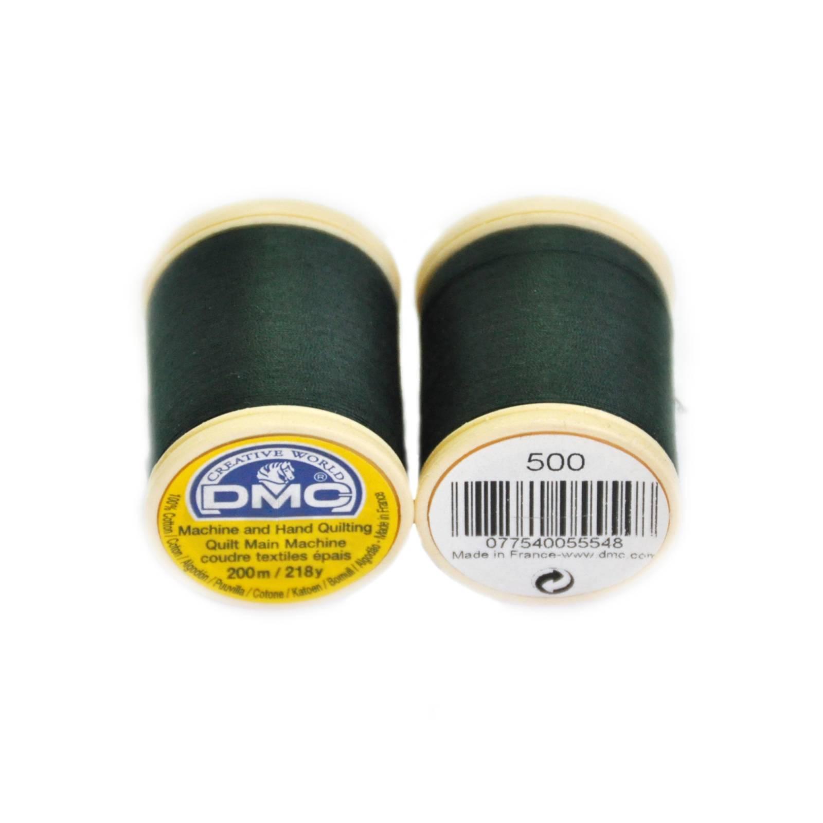 Linha Dmc para quilt cor 500 - BAÚ DA VOVÓ