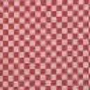 Tecido xadrez para bordar vermelho