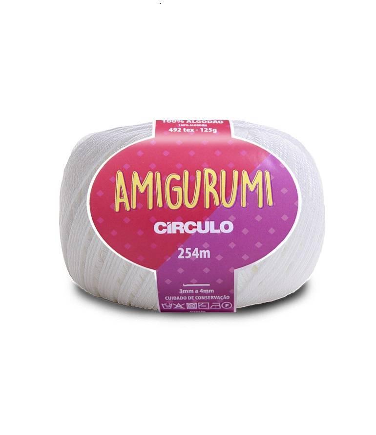 Amigurumi 8001 Branco - BAÚ DA VOVÓ