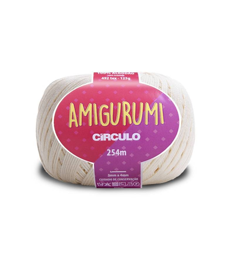 Fio amigurumi 8176 off white - BAÚ DA VOVÓ
