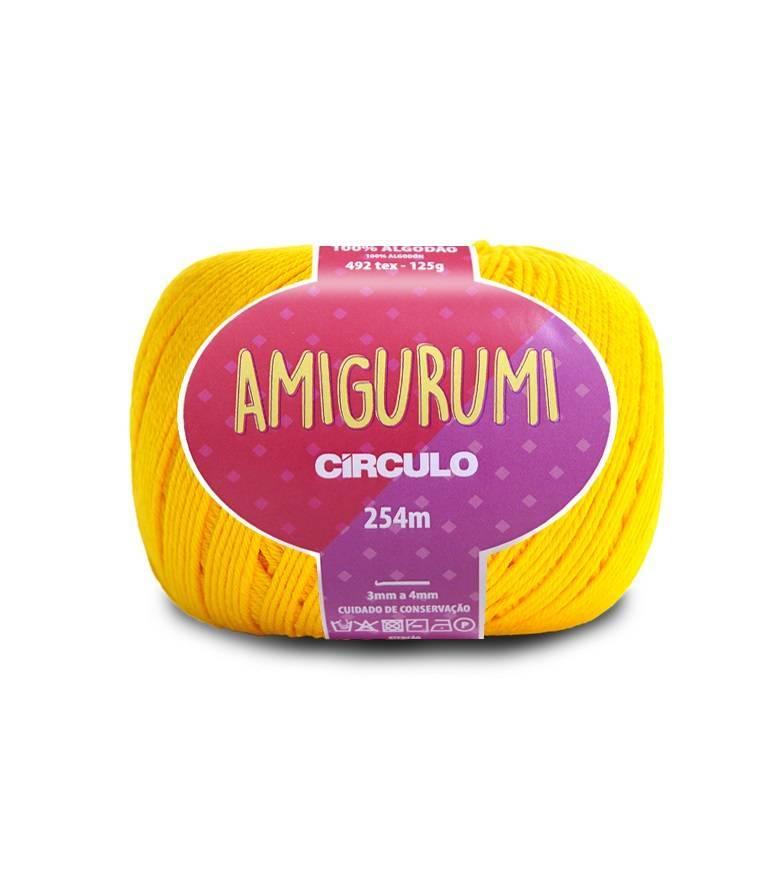 Fio amigurumi 1289 canário - BAÚ DA VOVÓ
