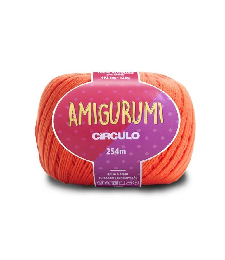 Amigurumi 4448 Tijolo - BAÚ DA VOVÓ