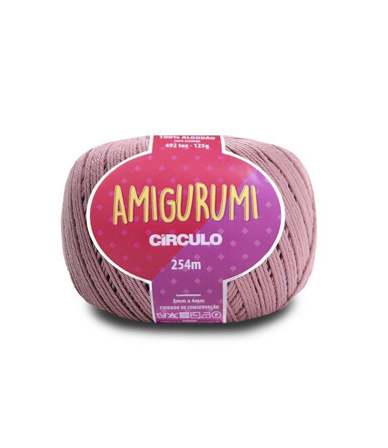 Amigurumi 3046 Doçura - BAÚ DA VOVÓ