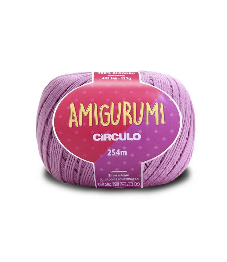Amigurumi 6161 Violeta - BAÚ DA VOVÓ
