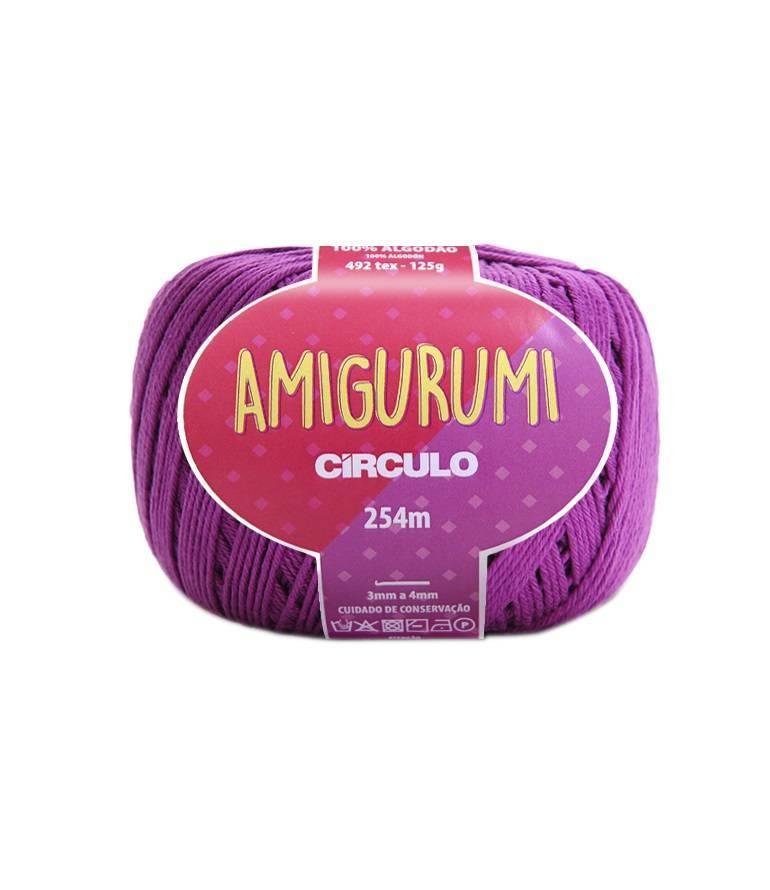 Fio amigurumi 6614 alfazema - BAÚ DA VOVÓ