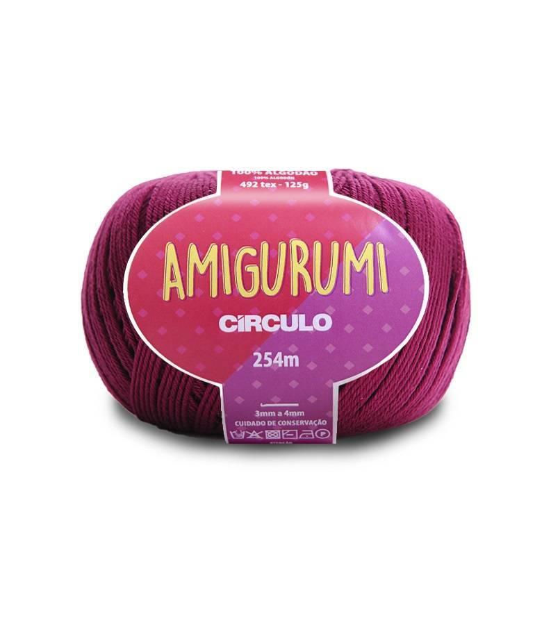 Fio amigurumi 3154 vinho - BAÚ DA VOVÓ