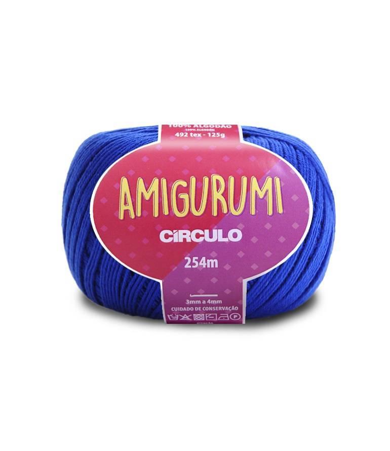 Fio amigurumi 2829 azul bic - BAÚ DA VOVÓ