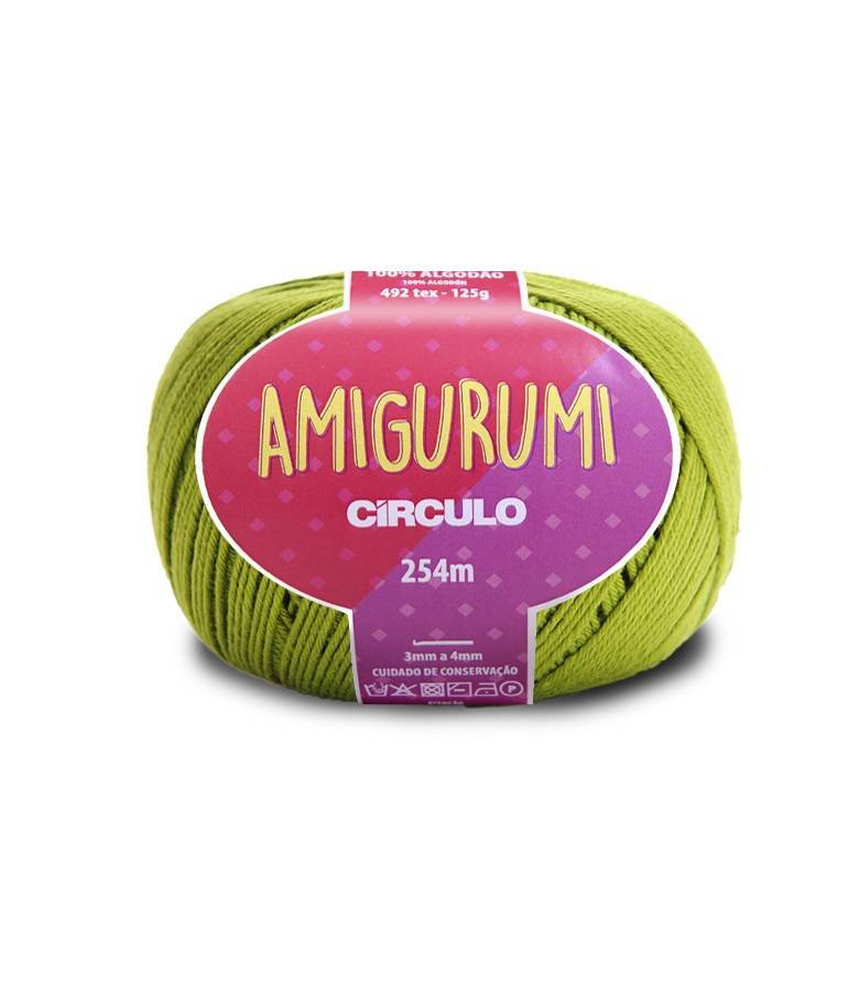Fio amigurumi 5800 pistache - BAÚ DA VOVÓ