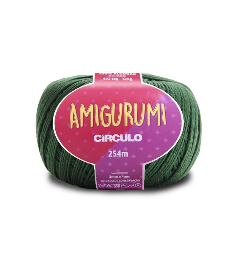 Fio amigurumi 5398 musgo - BAÚ DA VOVÓ