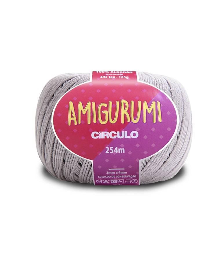 Fio amigurumi 8008 pedreira - BAÚ DA VOVÓ