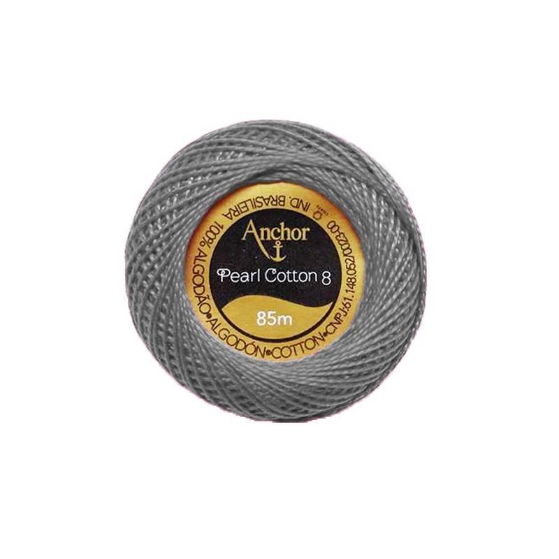 Linha Anchor perlé cor 400 - BAÚ DA VOVÓ