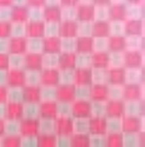 Tecido xadrez para bordar rosa - BAÚ DA VOVÓ