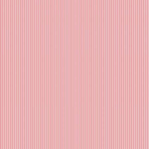 Listrado rosa bebê - BAÚ DA VOVÓ
