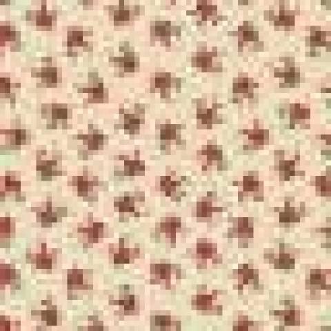 Flores mini fundo rosa - BAÚ DA VOVÓ