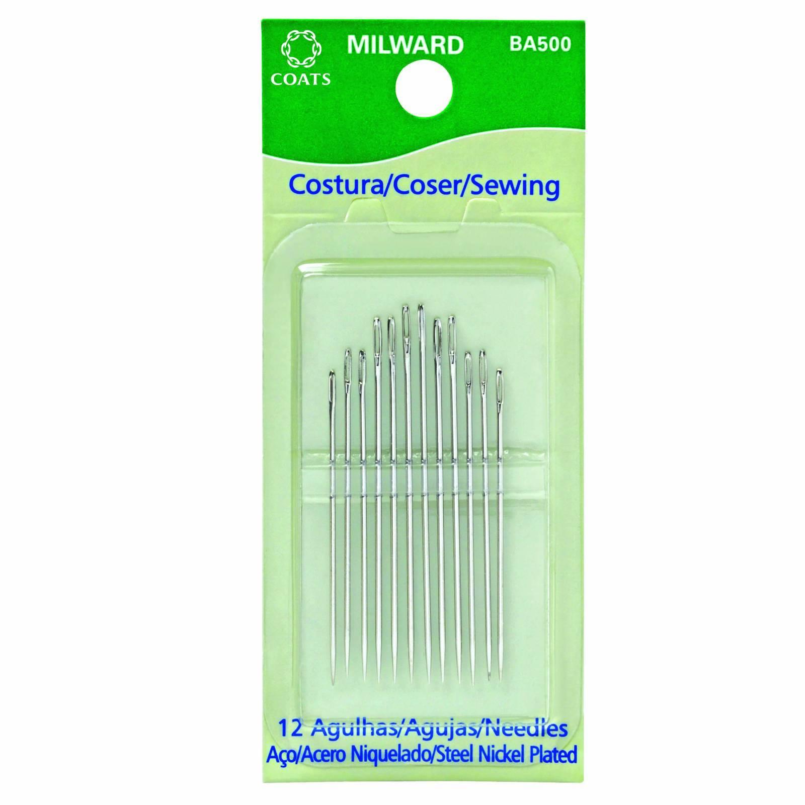 Kit de agulhas de costura à mão - BAÚ DA VOVÓ