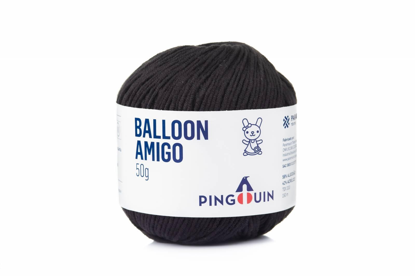 Balloon amigo 100 Preto - BAÚ DA VOVÓ