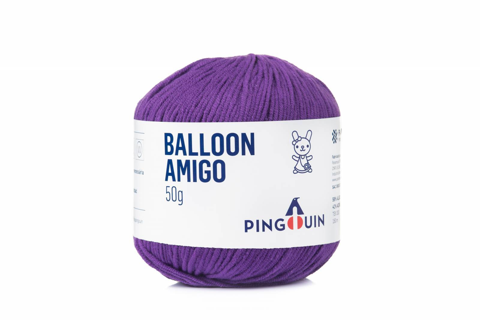 Balloon amigo 411 Violeta - BAÚ DA VOVÓ