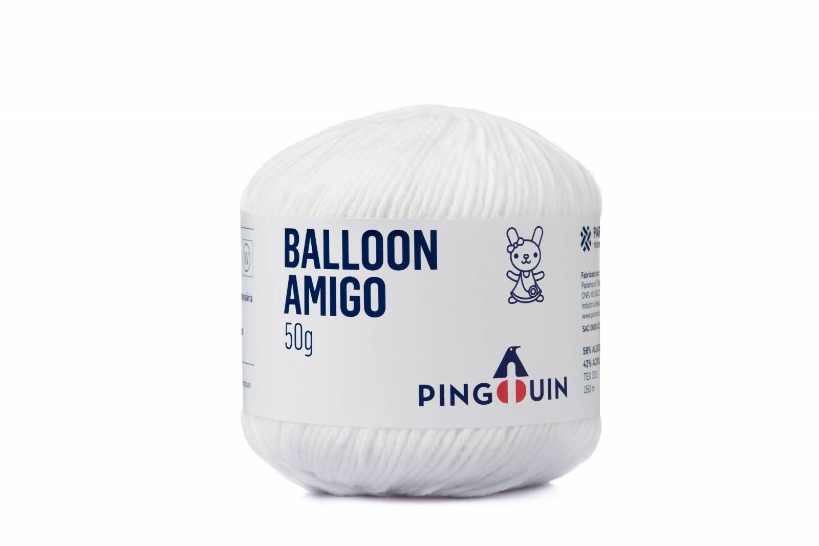 Balloon amigo 002 Branco - BAÚ DA VOVÓ
