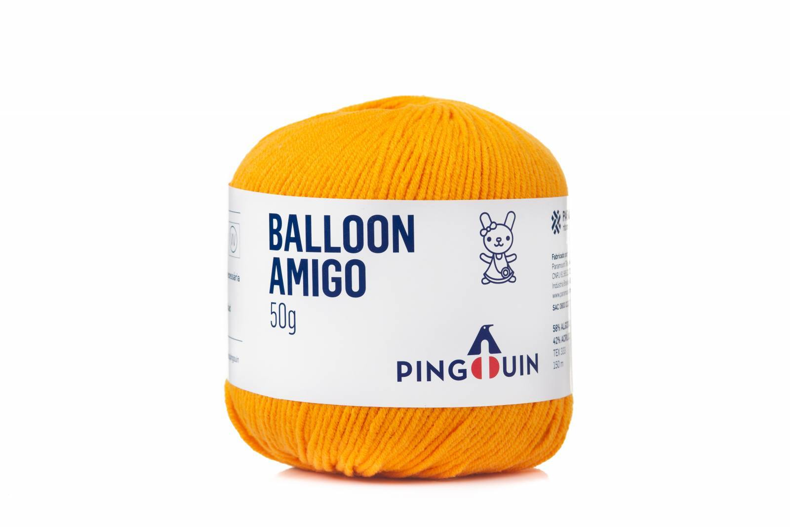 Balloon amigo 210 Mandarim - BAÚ DA VOVÓ