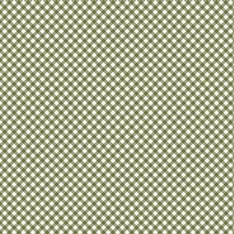 Micro xadrez verde - BAÚ DA VOVÓ