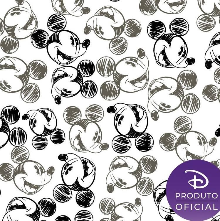 Coleção Disney Mickey charcoal - BAÚ DA VOVÓ