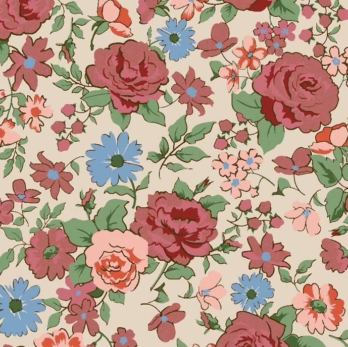 Rosas pequenas rose  - BAÚ DA VOVÓ