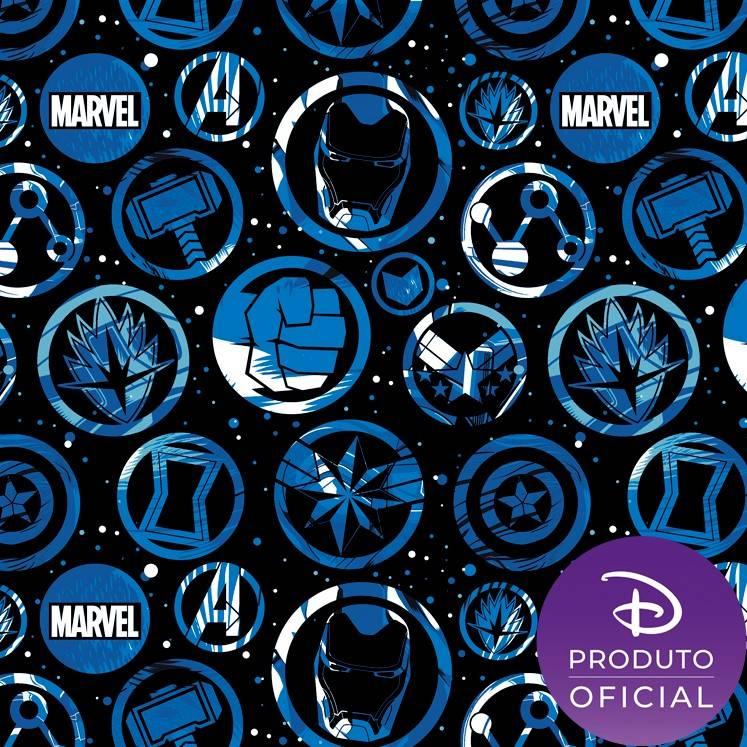 Coleção Marvel Avengers 2 fundo preto - BAÚ DA VOVÓ