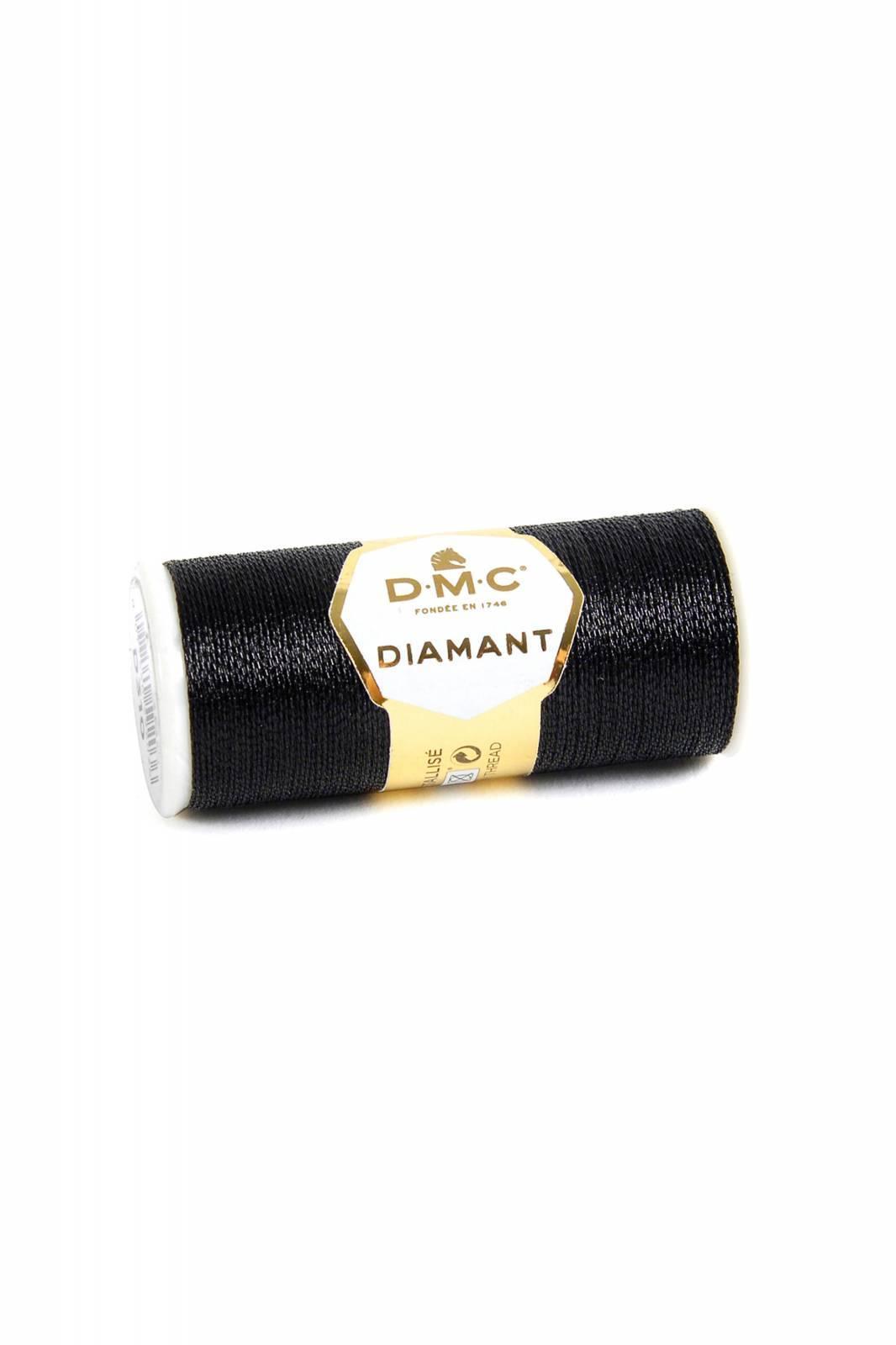 DMC Diamant cor 310 - BAÚ DA VOVÓ