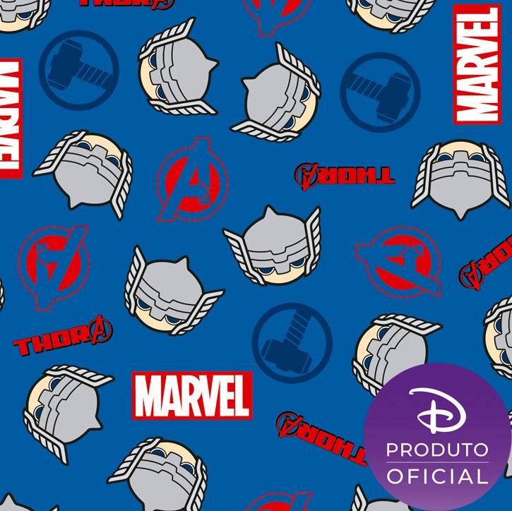 Coleção Marvel Thor2 fundo azul - BAÚ DA VOVÓ