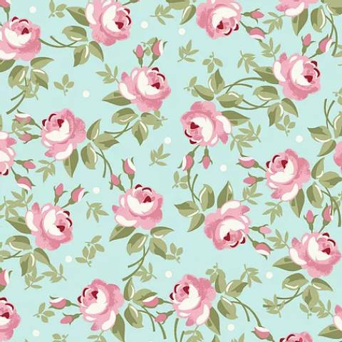 Floral Fadas Tiffany - BAÚ DA VOVÓ