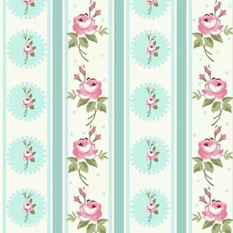 Listras Florais Fadas Tiffany - BAÚ DA VOVÓ