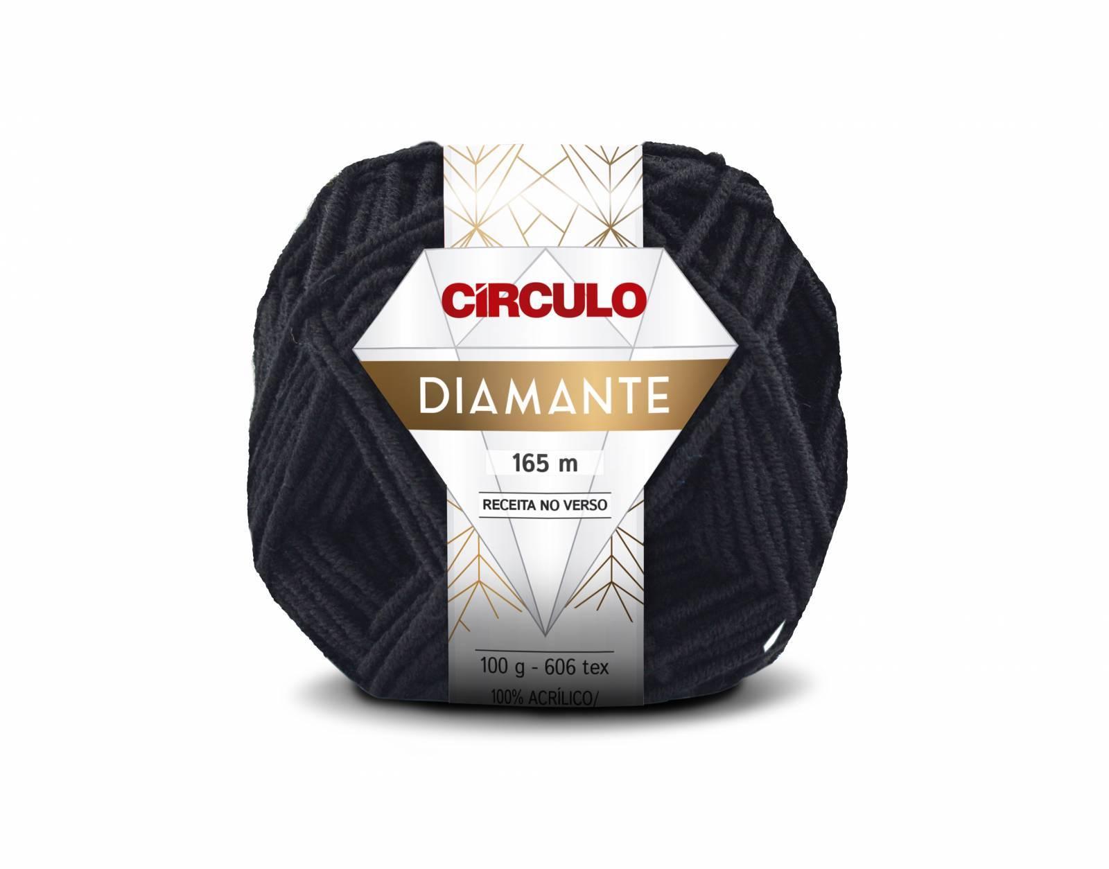 Lã Diamante cor 8990 - BAÚ DA VOVÓ