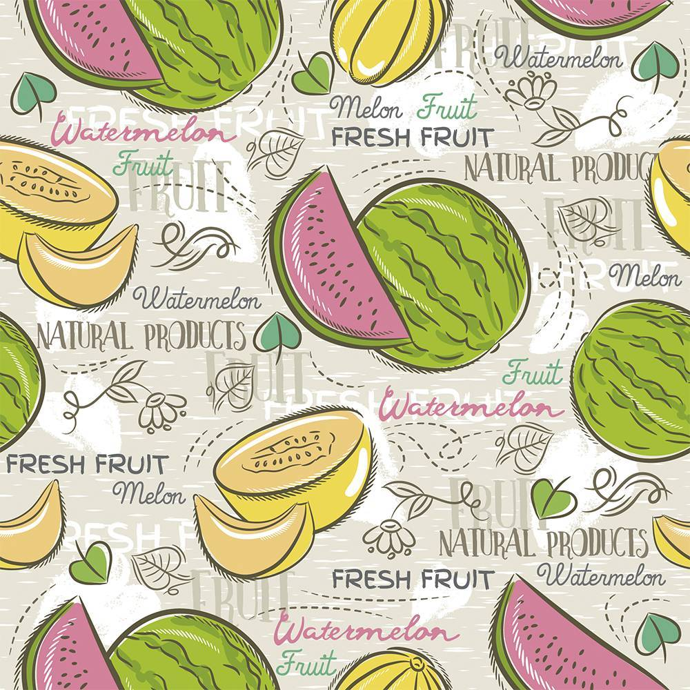 Melon Watermelon - BAÚ DA VOVÓ