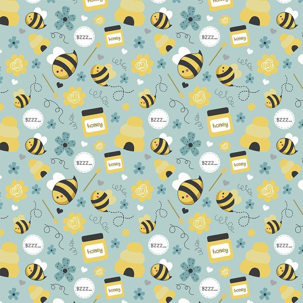 Tricoline Honey Bee - BAÚ DA VOVÓ