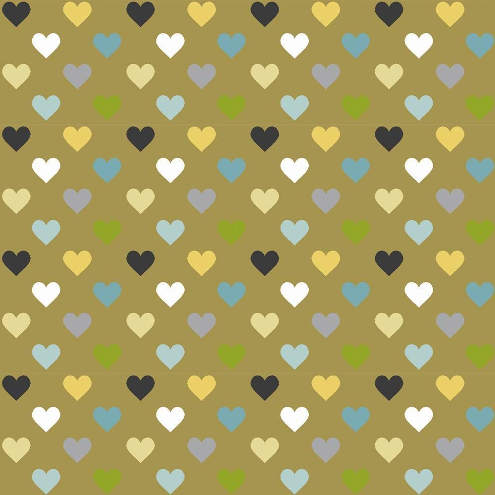 Tricoline Multi Hearts - BAÚ DA VOVÓ