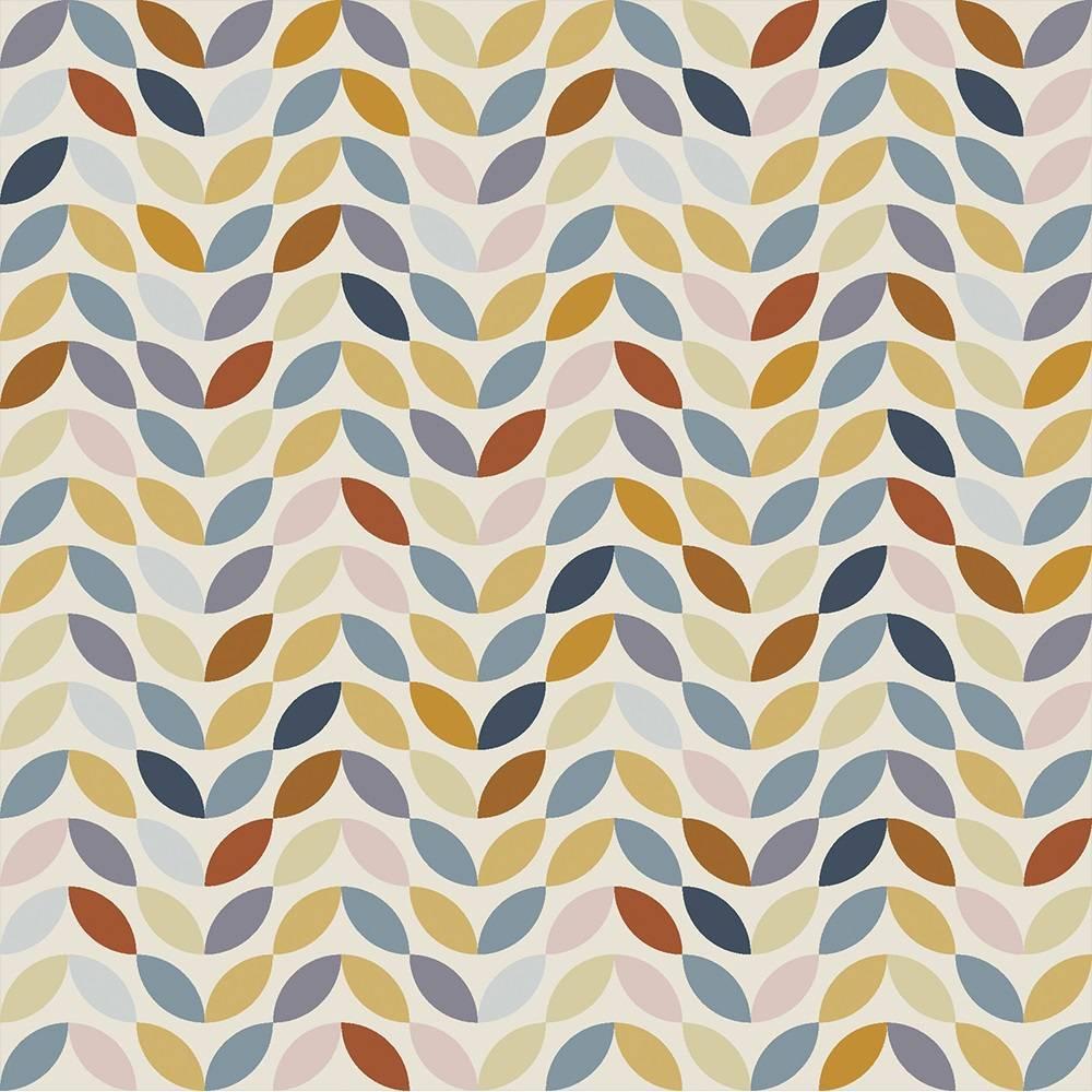 White Geometric Petals - BAÚ DA VOVÓ