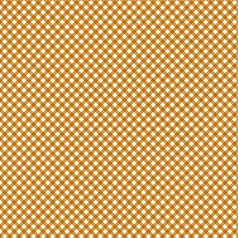 Micro xadrez laranja - BAÚ DA VOVÓ